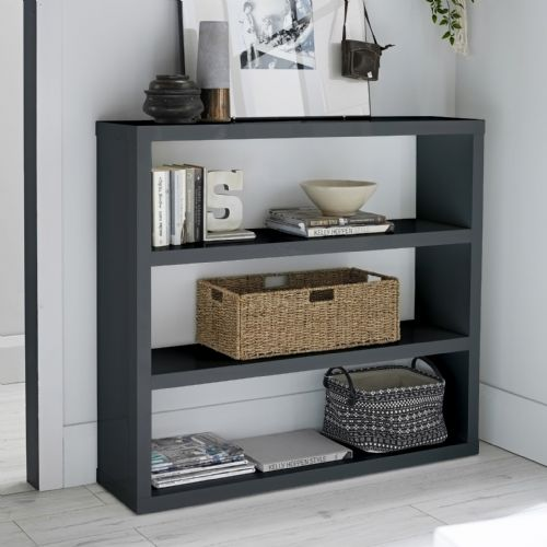 AXE110 Bookcase(Charcoal) by Denelli
